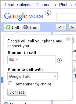 Google Voice Call