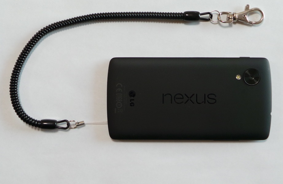 nexus5 with strap