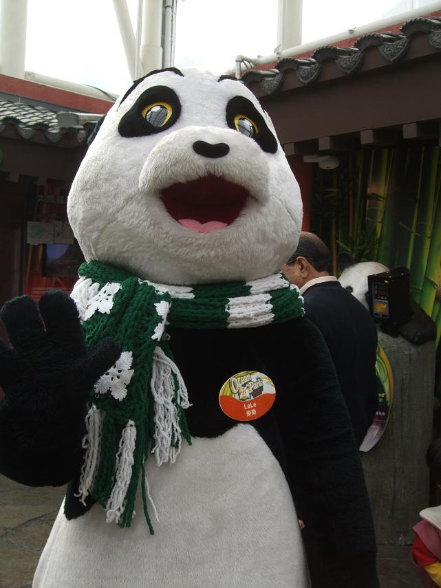 Giant Panda Le Le Fake
