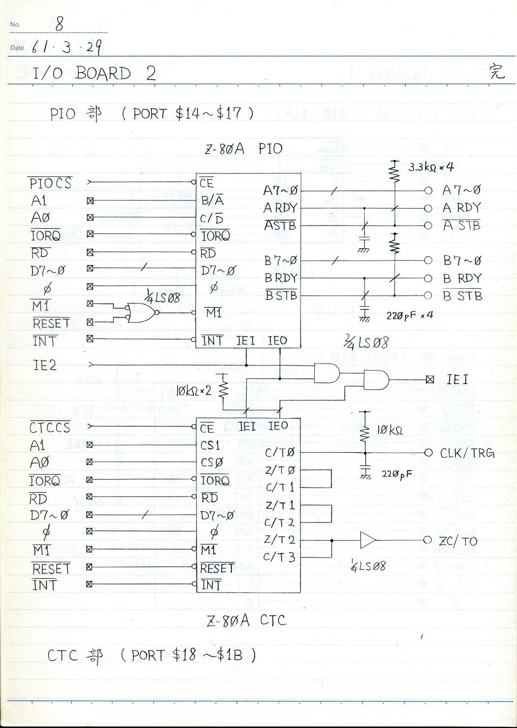 I/O board circuit 2